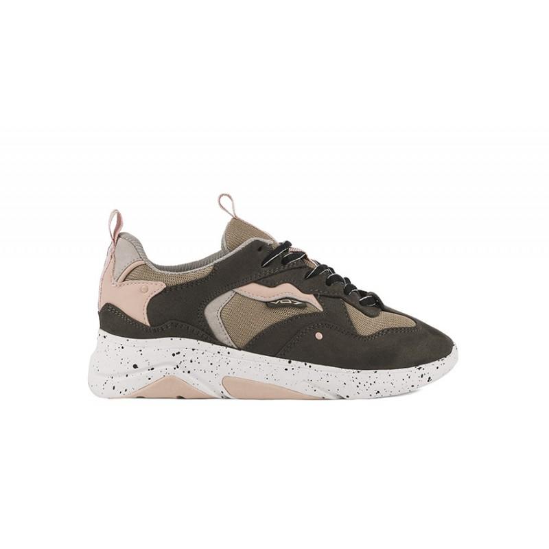 Chaussure VO7 Boca W Kaki. Sneakers VO7 Boca.