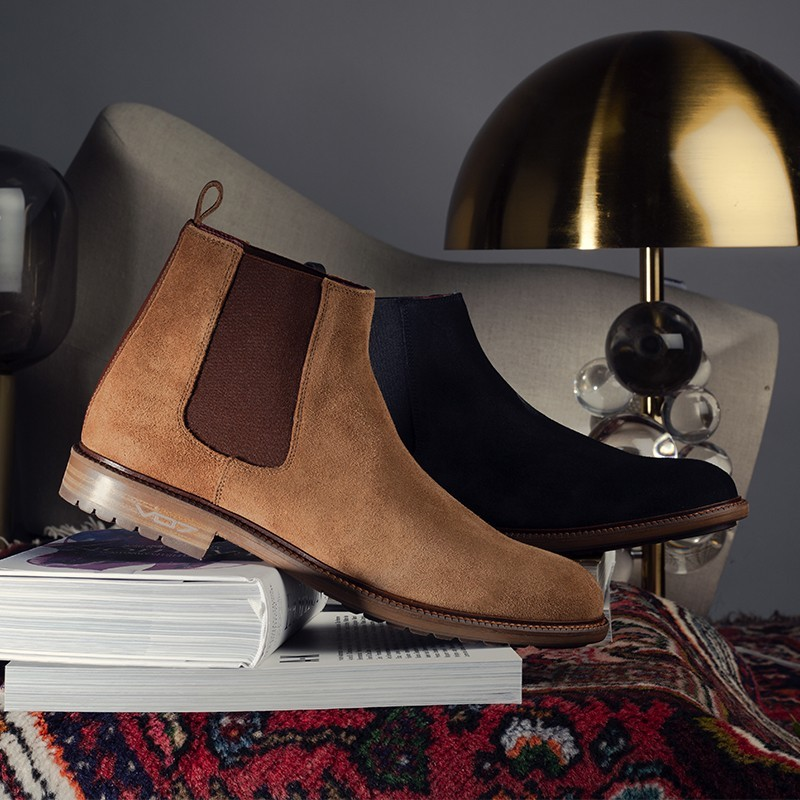 VO7 CHELSEA BOOTS CAMEL