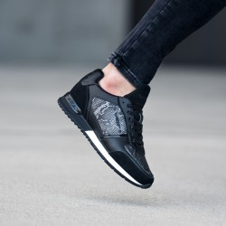 VO7 MILAN SNAKE Black chaussure homme